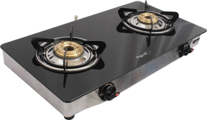 79cf00be0 Pigeon Blackline Smart Stainless Steel Manual Gas Stove Price in ...
