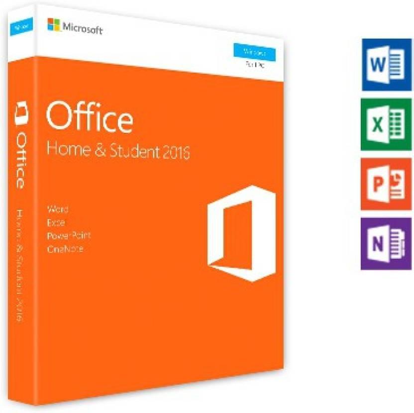 Microsoft Office 2016 Home Student Microsoft Flipkart