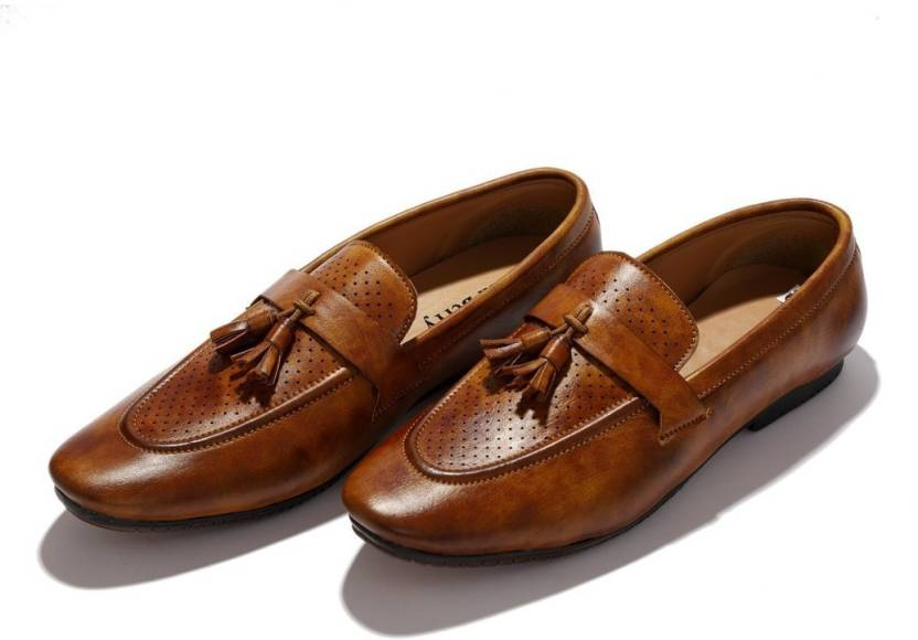47b3020699c Hush Berry New Collection Professional Knot Handmade Loafer Shoes Tassel  Loafer Mocassin For Men