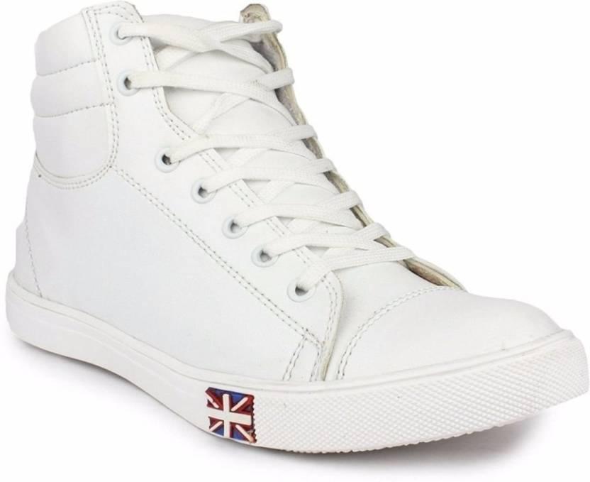 T-Rock Vision Sneakers For Men - Buy White Color T-Rock Vision ... 03d113d6d9ea0