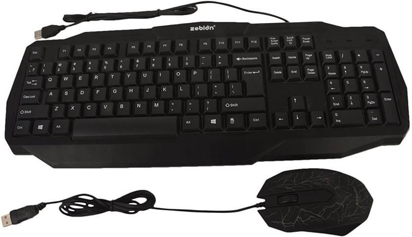 Zebion Gaming Keyboard