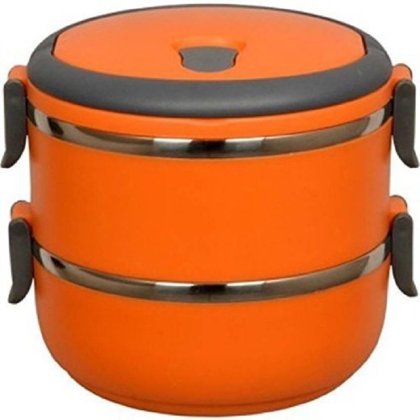 Flipkartcom Mega Shine 2 Layer Lunch Box Picnic Food Container