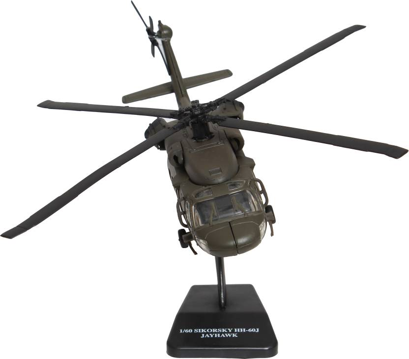 New-Ray 1:60 Scale Diecast Sikorsky UH-60 Hawk Helicopter