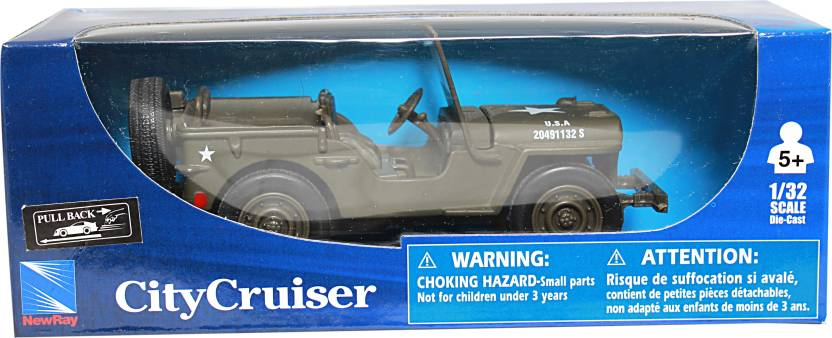 New Ray 1 32 City Cruiser Jeep Willys Diecast Model Car 1 32 City