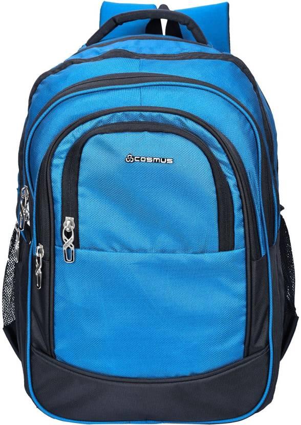 88b418c1808 Cosmus Kingston Large 36 Litre Polyester Indigo Travel Backpack ...