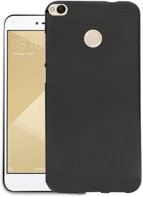 buy popular baca0 08397 TSV Back Cover for Xiaomi Redmi Mi 4 Black Soft Silicone High ...