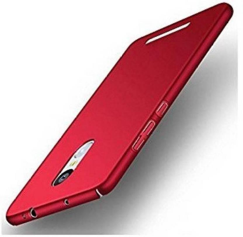 JBJ Back Cover for Mi Redmi Note 3 Red