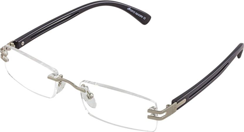 65a8a3d8a7 Esperto Readers Rimless (3.00) Rectangle Reading Glasses Price in ...