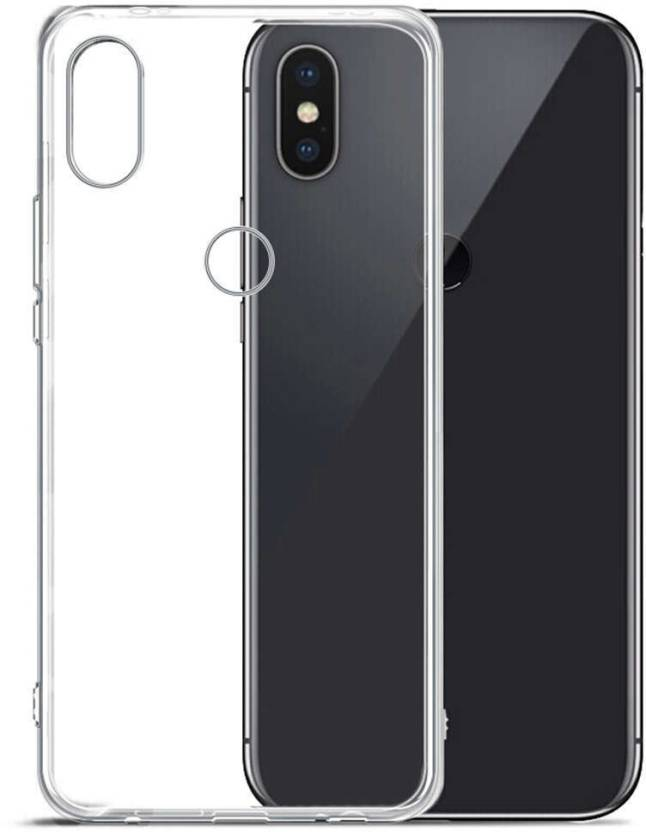 77222952c8e Sswastik Back Cover for Xiaomi Redmi MI A2 (6X) Plain Transparent Back Cover  (Transparent