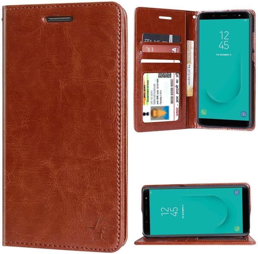 quality design fc68e 2b5fc Flipkart SmartBuy Flip Cover for Samsung Galaxy J6
