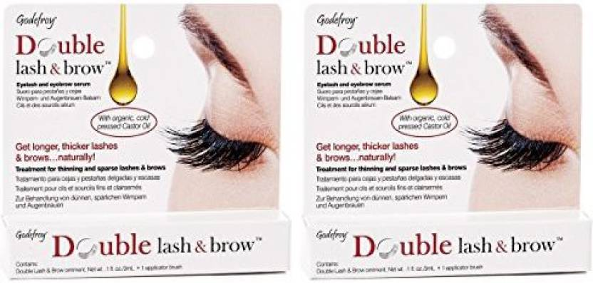 8a470680692 Godefroy Double Lash & Brow Eyelash and Eyebrow Growth Serum - Price ...