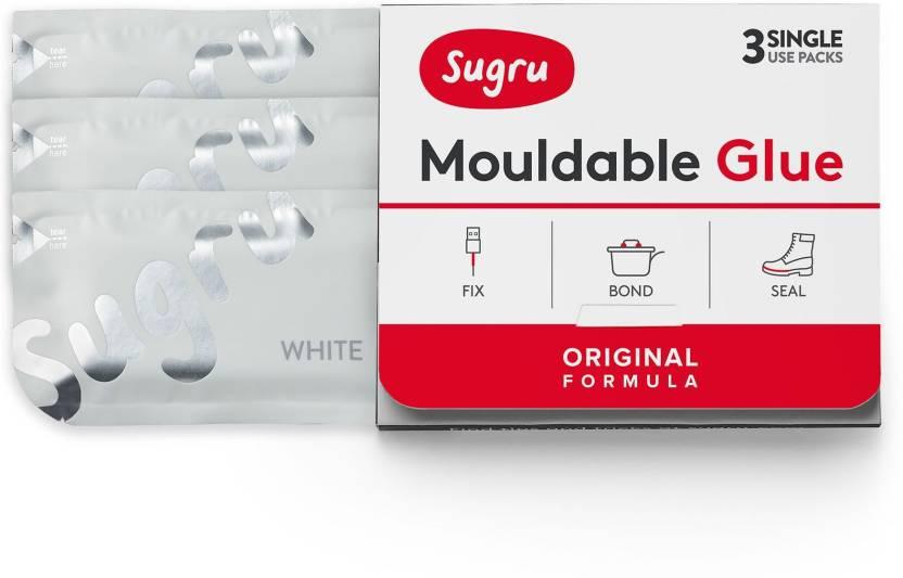 Sugru Mouldable Glue - White (3 Pack) Glue - Buy Sugru