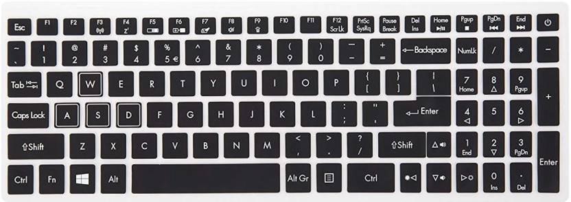 iFyx Black Keyguard Acer Nitro 5 Ryzen Keyboard Skin Price in India