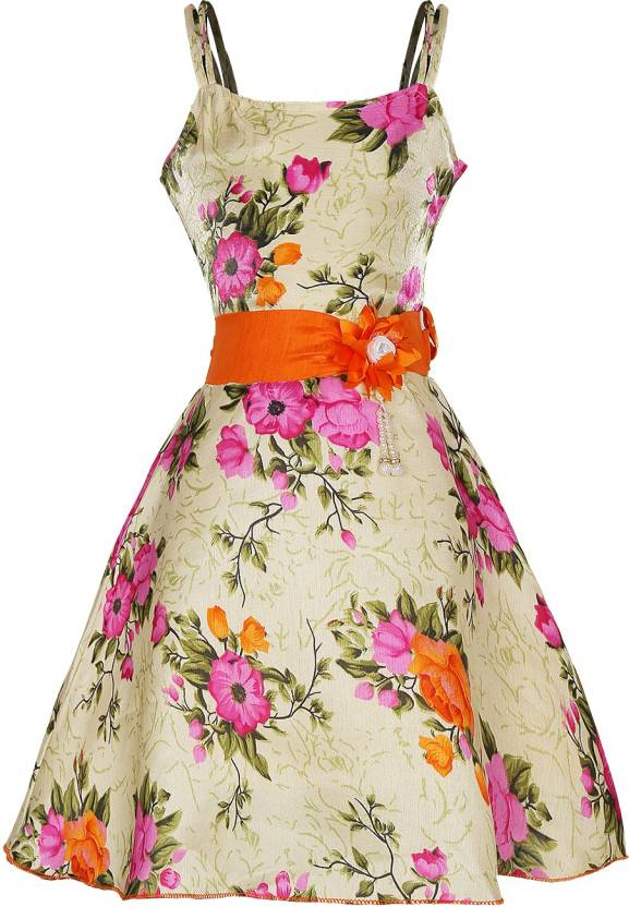 05e91081ed70 FabTag - Tiny Toon Girls Maxi Full Length Party Dress Price in India ...