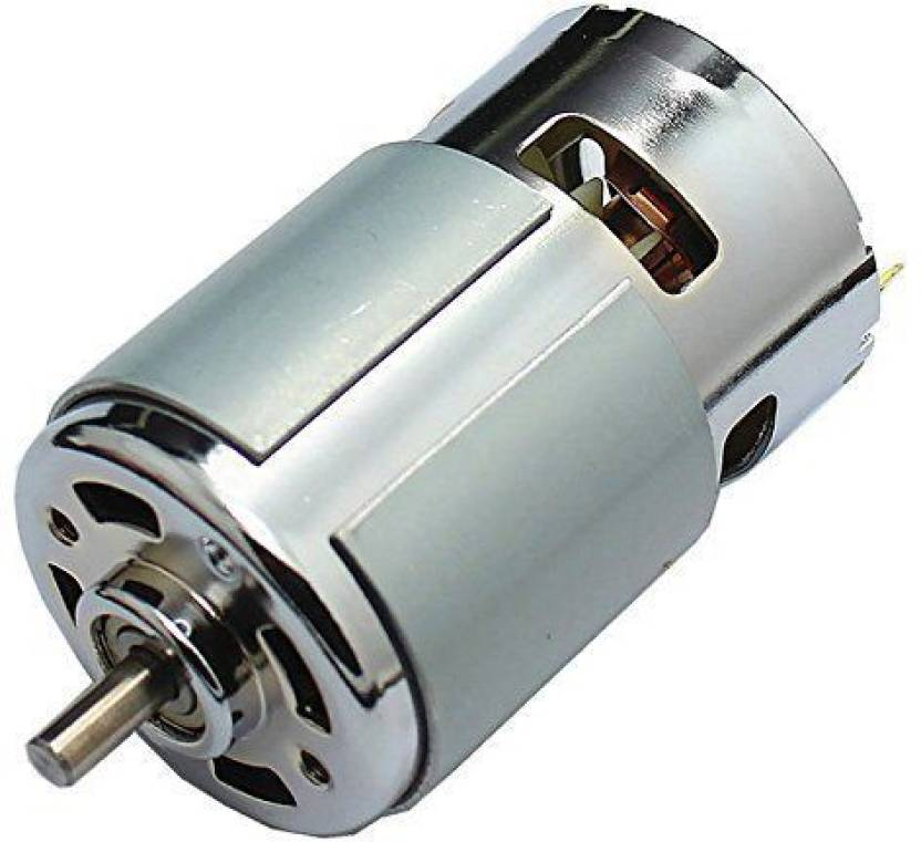 Technical hut 12V 7000 RPM High Torque Big Strong DC Motor Educational  Electronic Hobby Kit
