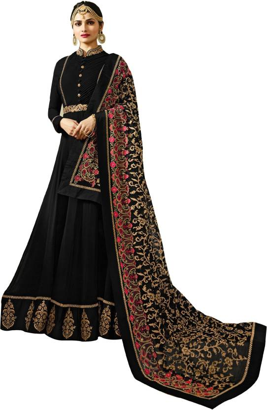 8bb1076d042 Ethnic Yard Faux Georgette Embroidered Semi-stitched Salwar Suit Dupatta  Material Price in India - Buy Ethnic Yard Faux Georgette Embroidered Semi- stitched ...