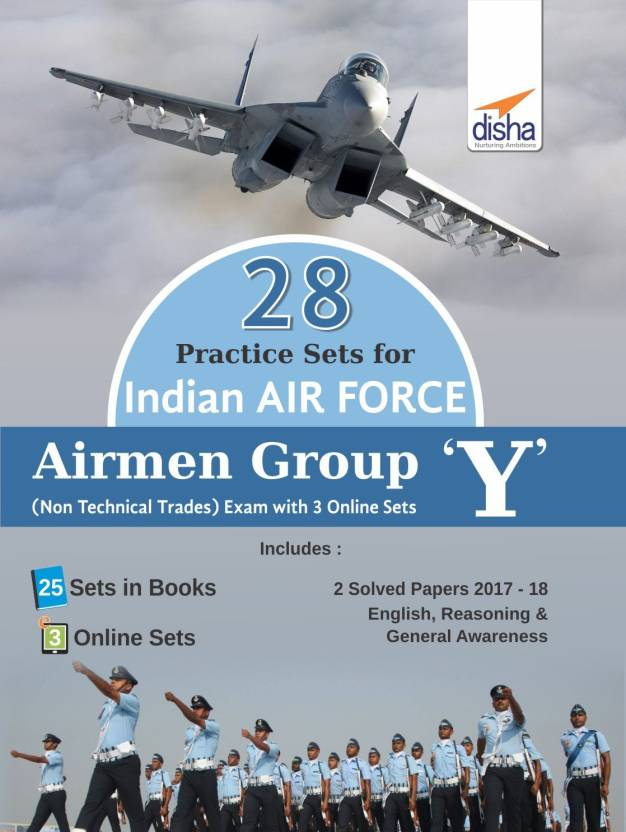 22a2d1397a 28 Practice Sets for Indian Air Force Airmen Group Y (Non-Technical ...