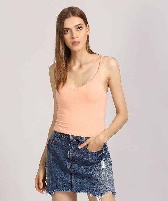 8c443b26442fb Forever 21 Women s Camisole - Buy ORCHID Forever 21 Women s Camisole Online  at Best Prices in India