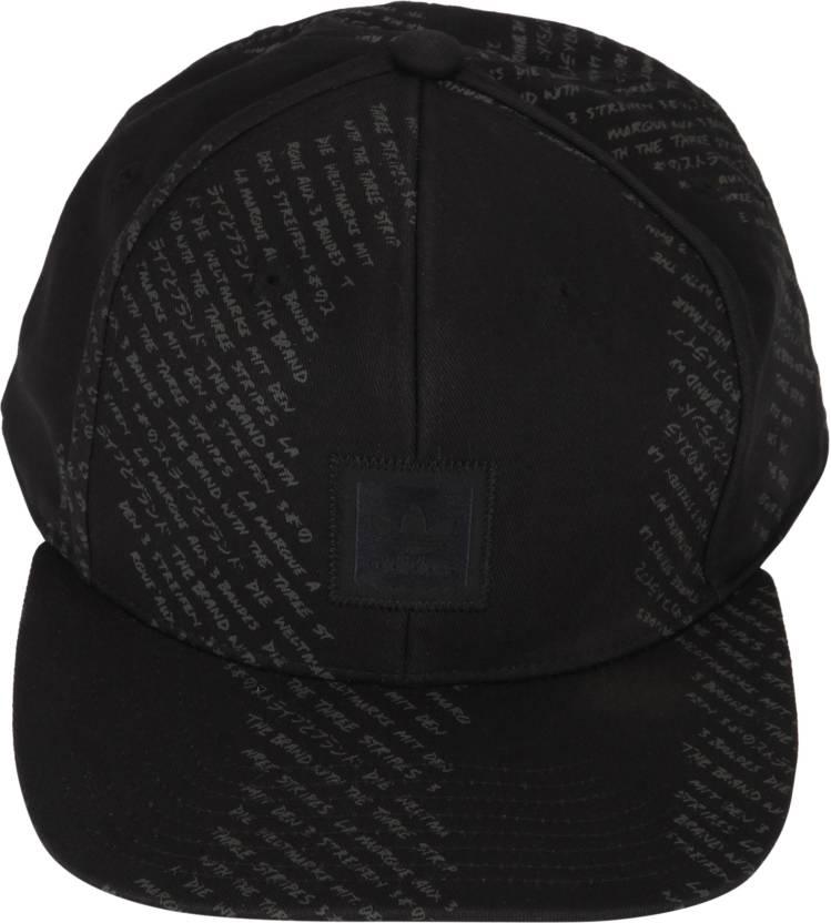 c2644a31 ADIDAS ORIGINALS Printed Hat Cap - Buy Black ADIDAS ORIGINALS Printed Hat  Cap Online at Best Prices in India | Flipkart.com