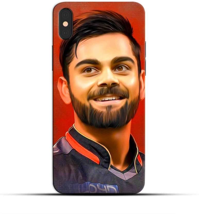 Saavre Back Cover For Virat Kohli Stylish Kohli Beard