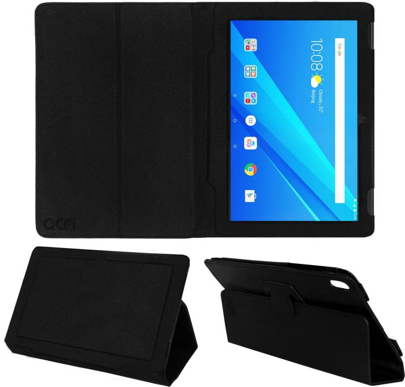 finest selection 091f3 4f6e2 ACM Flip Cover for Lenovo Tab 4 10.1 inch