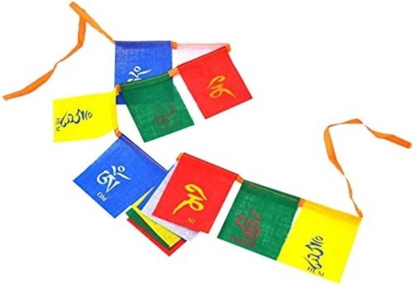 Seggo Tibetan Buddhist Prayer Flag For Bajaj Pulsar 150 Rectangle