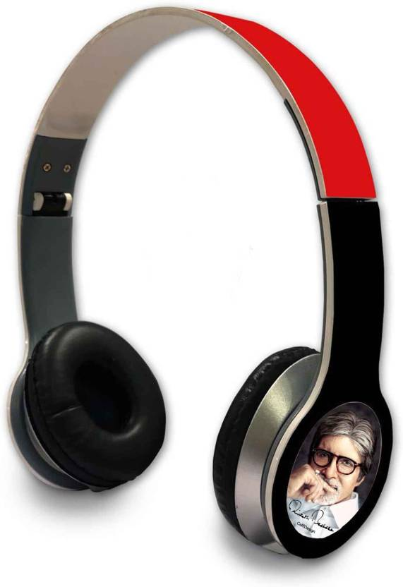 CelfiDesign BigB  Wired Headphone Wired Headphone Multicolor, Over the Ear