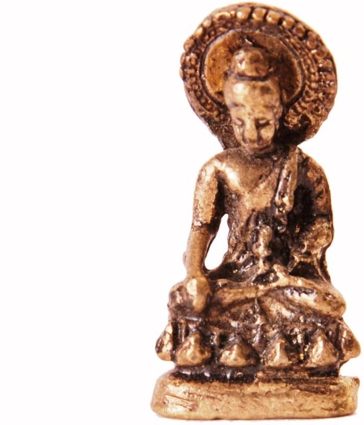 Purpledip Rare Miniature Statue Gautam Buddha in Varada Mudra