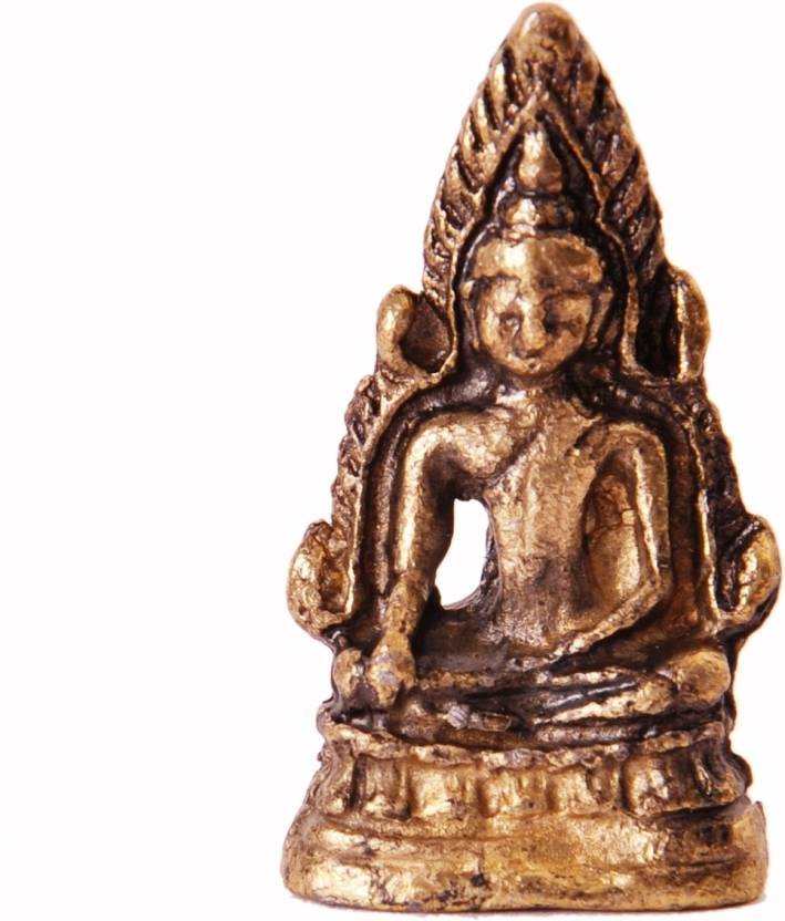 Purpledip Rare Miniature Statue Lord Buddha in Bhumi-sparsha Mudra