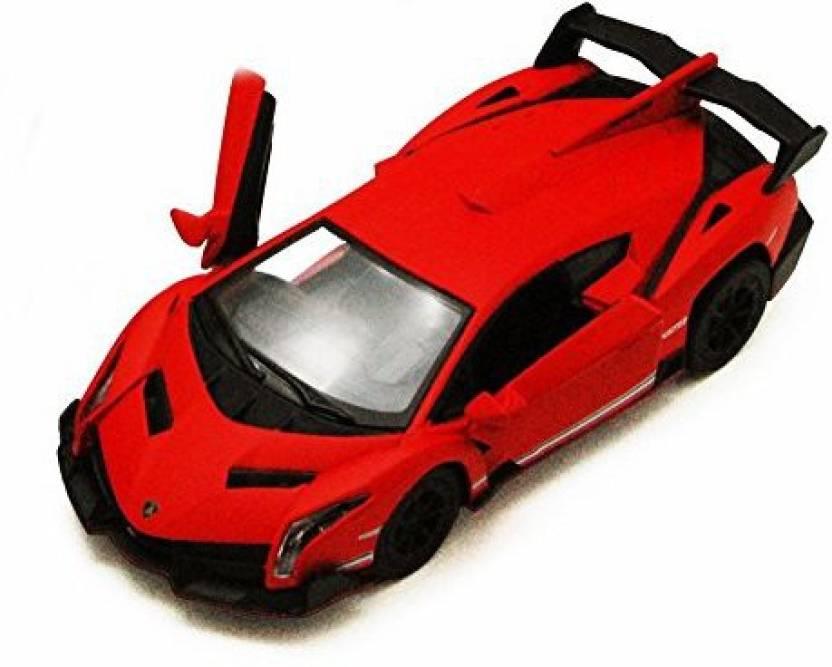 Kinsmart Lamborghini Veneno, Red - 5370D - 1/36 scale