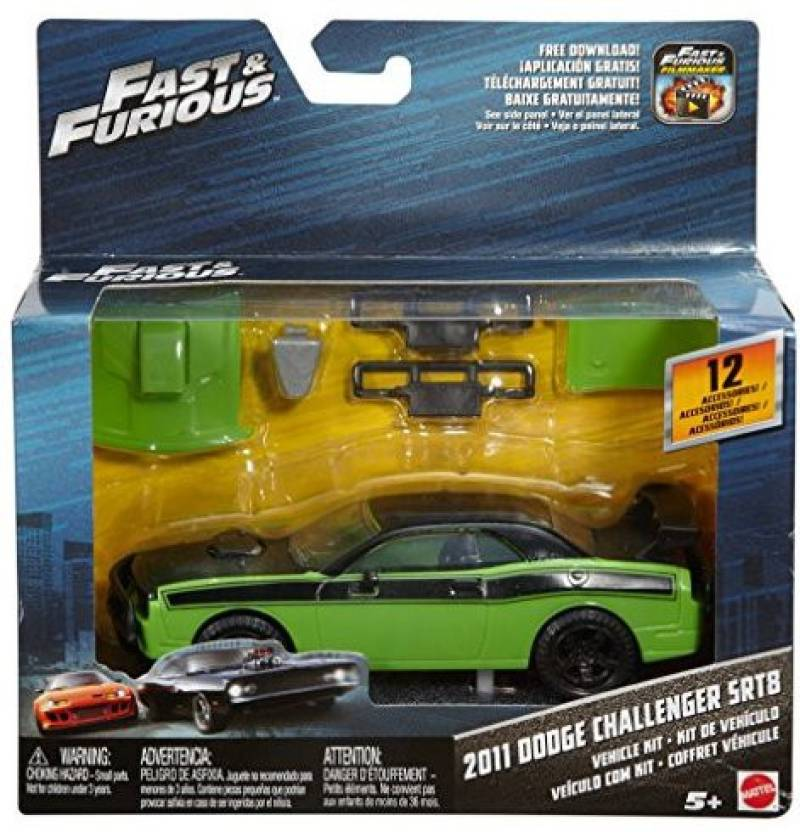 Hot Wheels Fast & Furious 8 Ecl Accessory Kit - Fast