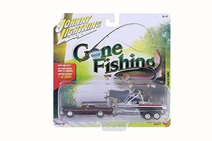 ModelToyCars 1973 Chevy Caprice Station Wagon Gone Fishing