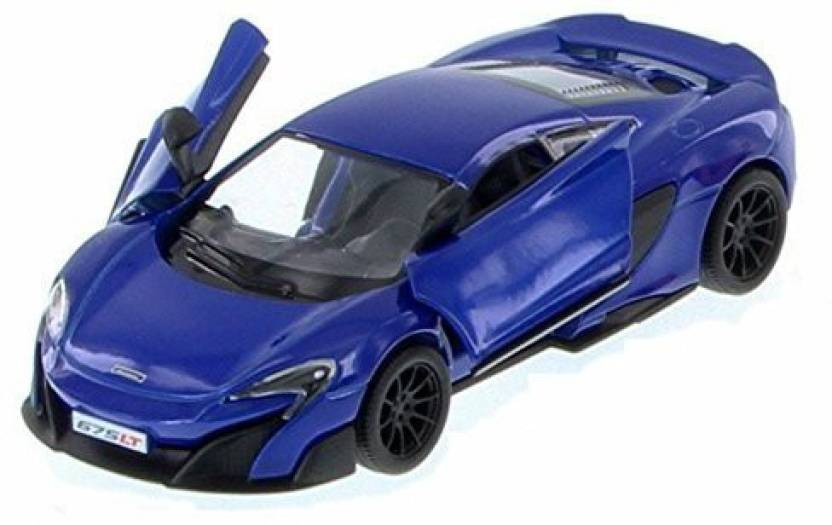 Kinsmart Mclaren 675lt Blue 5392d 1 36 Scale Diecast Model Toy