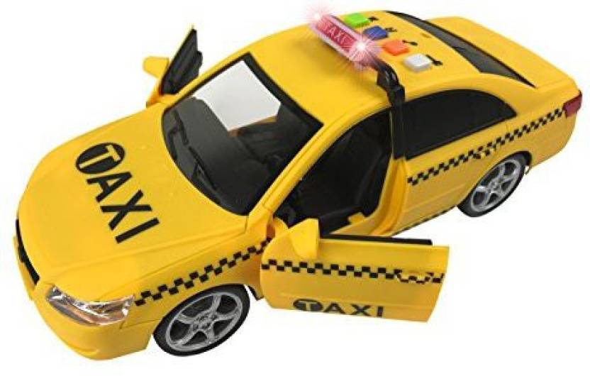 brand new e2d05 1d26d Liberty Imports Friction Powered Yellow Taxi Cab 1:16 Toy ...