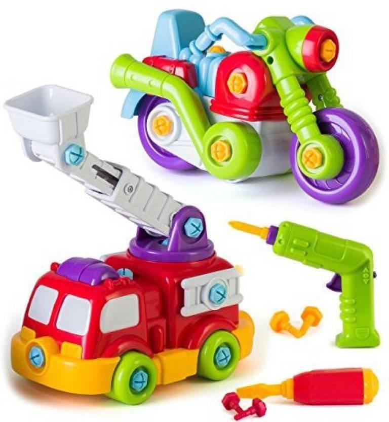 EduKid Toys Take Apart Toys Car, STEM Learning Take A Part