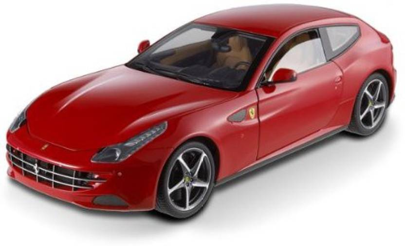Hot Wheels Ferrari Ff Gt V12 4 Seater Red Elite Edition 1 18 Cast Car Model By Hotwheels Multicolor