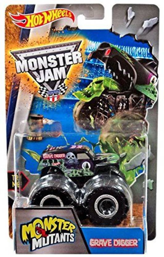 Hot Wheels Monster Jam Mutants Truck - Grave Digger by