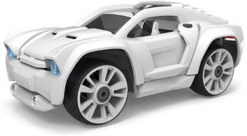 Build Your Own Car Kit >> Modarri Delux S2 Paint It Car Build Your Car Kit Toy Set Ultimate