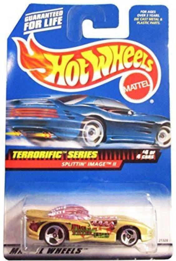 Hot Wheels Mattel 1999 1 64 Scale Terrorific Series Gold Splittin