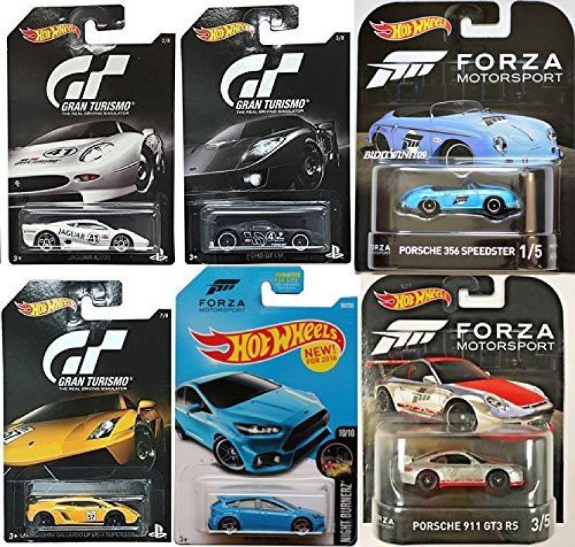 02257fc6b7f9 AYB Products Gran Turismo Video Game Hot Wheels Exclusive & Forza Retro  Entertainment Porsche Speedster &