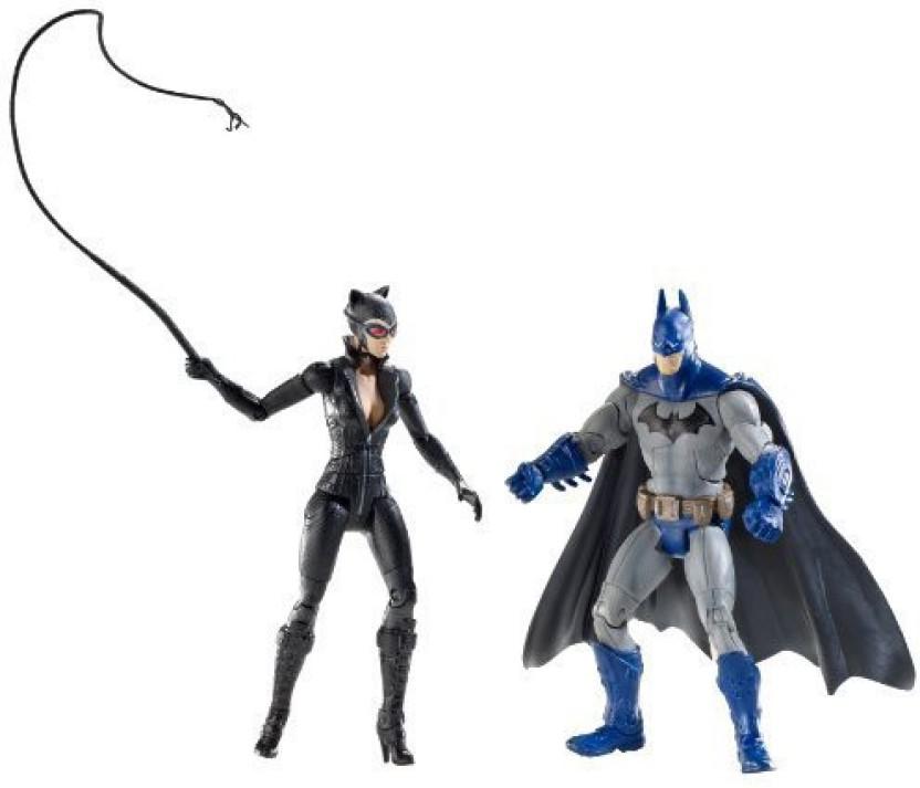 Action Figure serie 1-15 cm Batman Total heroes Mattel