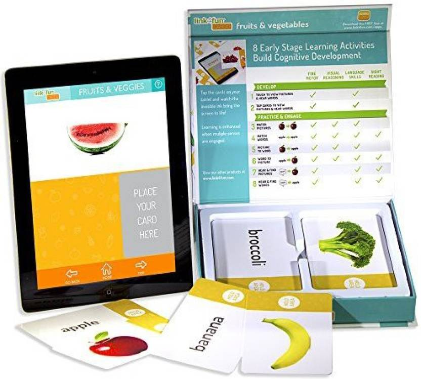 Stages Learning Materials Link4Fun Fruits & Vegetables