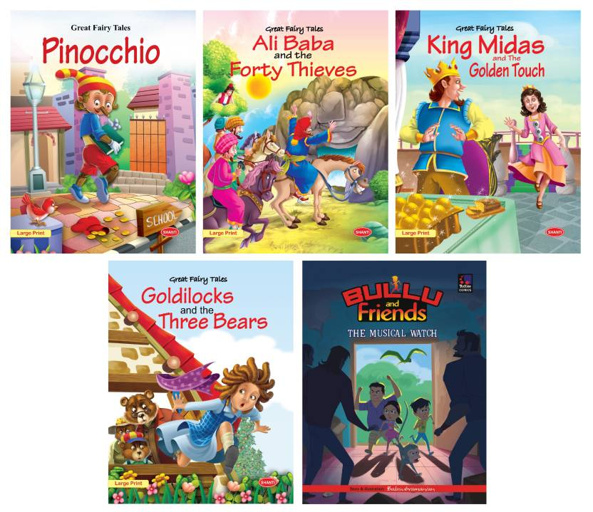 Fairy Tales Story Books For Kids-Great Fairy Tales
