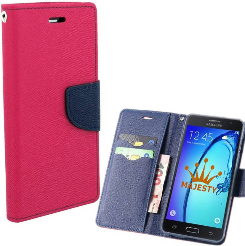 new product 19dff 54de0 iPaky Wallet Case Cover for Samsung Galaxy J3 Pro - iPaky : Flipkart.com