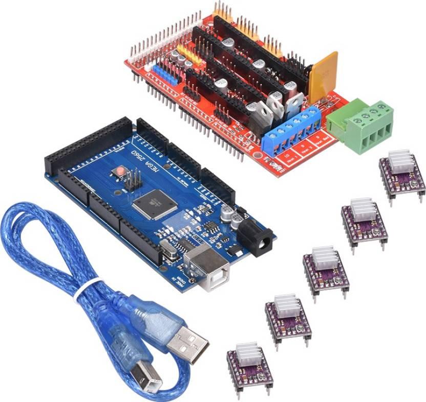 3D PRINTING RAMPS 1 4 + MEGA 2560 + 5pcs DRV8825 FOR ARDUINO