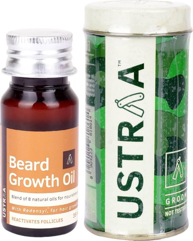 Ustraa Beard Growth Oil 35 Ml Hair Oil Price In India Buy Ustraa