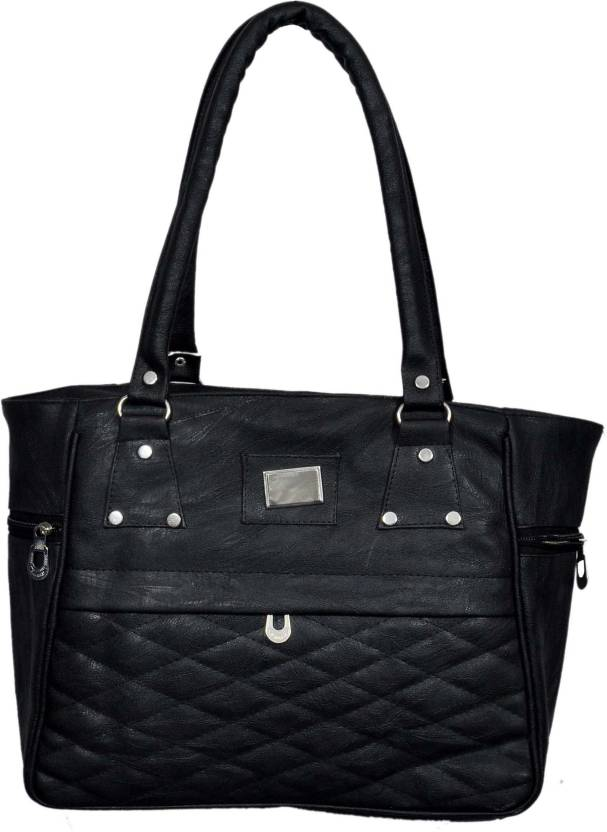 f6838d4d7e Buy gauravcollections Hand-held Bag Black Online @ Best Price in ...