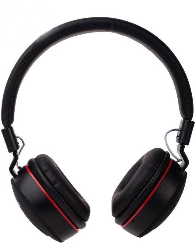 Macron MS-771 Wireless Bluetooth Multi-function Headphone with Built-in  Card Reader Bluetooth, Wired Headset with Mic