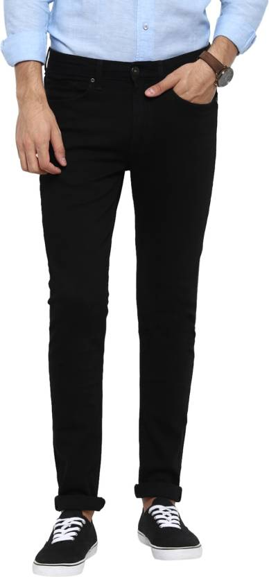 2d4a02a6ee8 Red Tape Skinny Men Black Jeans - Buy Red Tape Skinny Men Black Jeans  Online at Best Prices in India