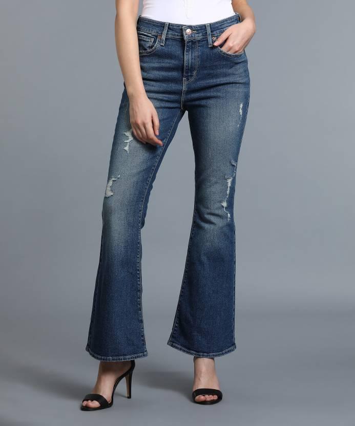 df962485b6 Levi's Flared Women's Blue Jeans - Buy Blue Levi's Flared Women's Blue  Jeans Online at Best Prices in India | Flipkart.com